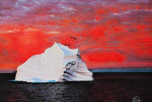 Eisberg im Ofen